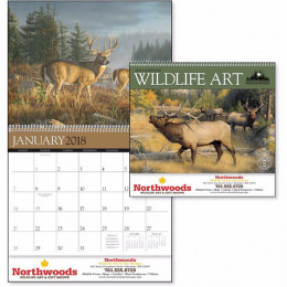 Wildlife Art by the Hautman Brothers Premium Appointment Calendar