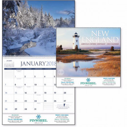 New England Premium Appointment Calendar