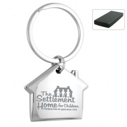 Home Sweet Home Engraved Metal Keyholder