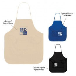 Custom Business Logo Imprinted Non Woven Polypropylene Aprons