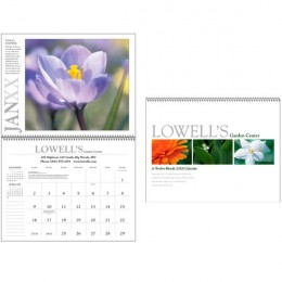 Small Spiraled Custom Every Month Appointment Calendar