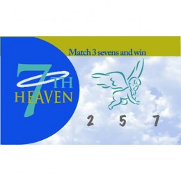 Seventh Heaven Scratch-N-Win Card - Medium