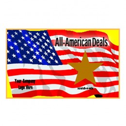 All-American Scratch-N-Win Card - Small