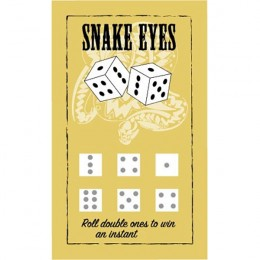 Snake Eyes Scratch-N-Win Card - Small