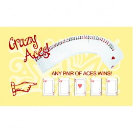 Crazy Aces Scratch-N-Win Card - Medium