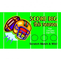 Football Scratch-N-Win Card - Medium