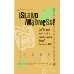 Island Madness Scratch-N-Win Card - Medium