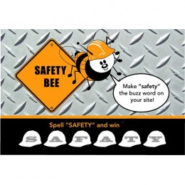 Safety Bee Scratch-N-Win Card - Large
