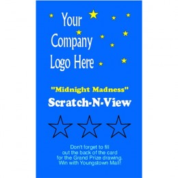 Starry Night Scratch-N-Win Card - Large