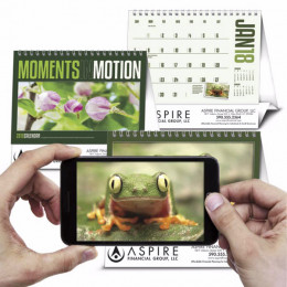 Moments In Motion Calendar With Pixaction Imprinted