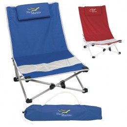Custom Promotional Beach Chairs with Logo for your Business - Stadium Chairs