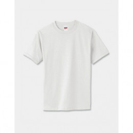 Anvil Cotton T-Shirt - White Promotional Custom Imprinted With Logo