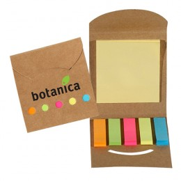 Eco Aware Sticky Note and Flag Book