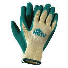 Yellow & Green Palm Dipped Gloves