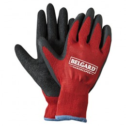 Red Palm Dipped Gloves