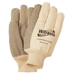 Canvas Gloves with Grip Dots