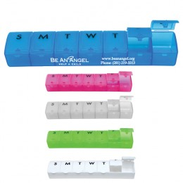 Promotional Weekly Pill Container
