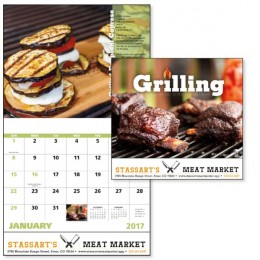 Grilling Calendar with Imprint