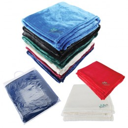 Mink Touch Luxury Fleece - Best Embroidered Promotional Plush Blankets