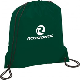Oriole Nylon Promo Drawstring Backpack - Hunter Green
