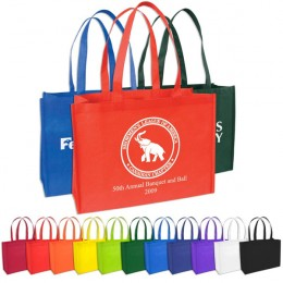 Recycled Custom Shopping Tote Bag - In Many Colors