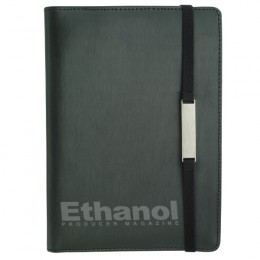 Engraved Mini Tablet Padfolio with Rotating Stand