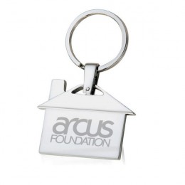 House Shaped Key Chain - Low Minimum