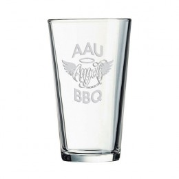 Etched Pub Glass - 16 oz