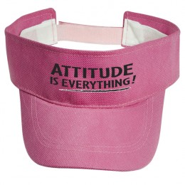 Econo Visor Cheap Custom Visor Cap - Cheap Custom Branded Visors - Pink