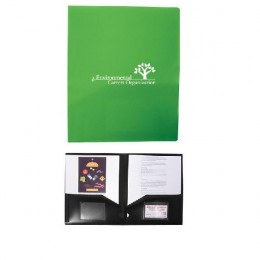 Two Pocket Presentation Folder with Imprint