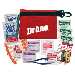 Promotional Small  First Aid Kit - Red