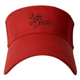 Standard Visor with Custom Imprint - Red