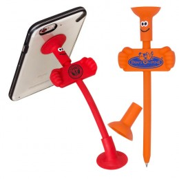 Imprinted Goofy Bendy Pen/Phone Stand
