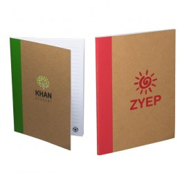 Color-Pop Recycled Memo Book with Imprint