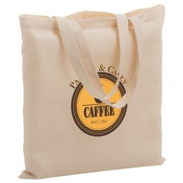 Cheap cotton promotional bag with logo - Environmentally friendly totes