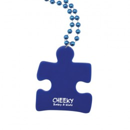 Puzzle Piece Medallion Beads Promotion with Imprint