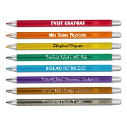 Promotional Twist Crayons