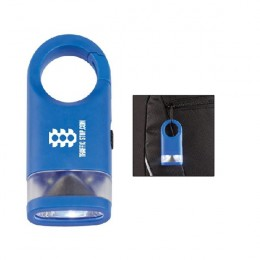 Cirrus Lantern Flashlight with Logo - Blue