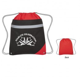 Promotional Non-Woven Edge Sports Pack - Red