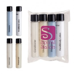 Imprinted Travel Amenities Kit - 4 Piece