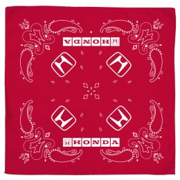 Promotional Bandana Head and Neck Wear - Red