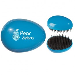 Custom Imprinted Detangling Brush - Blue