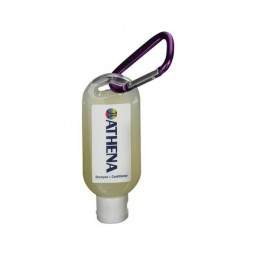 Shampoo 1.9 oz Carabiner Bottle with Logo