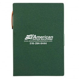 Promotional Kraft Paper Memo Pad-Pen-Sticky Notes - Green