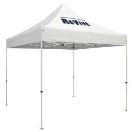 Customized Standard 10' x 10' Event Tent Kit white