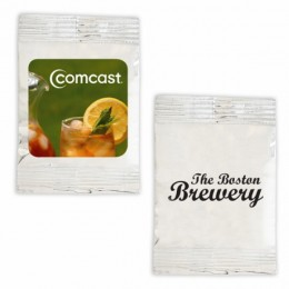Promotional Iced Tea Drink Packet - Silver