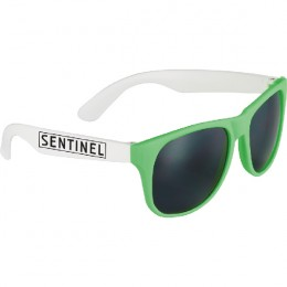 Neon Green Promotional Retro Sunglasses - Spirit