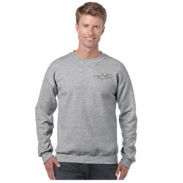Promotional Gildan Heavy Blend Crewneck Sweatshirt - Gray