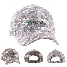 Promotional Digital Camo Structured Baseball Cap