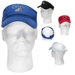 Logo Embroidered Budget Visor